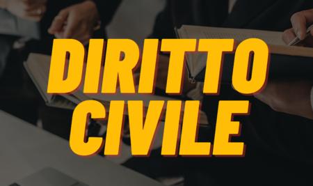 Lezione del 14 Giugno 2021 – Diritto Civile